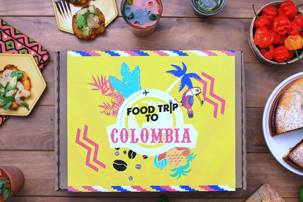 Dishes derived from the Food Trip To ... Colombia box