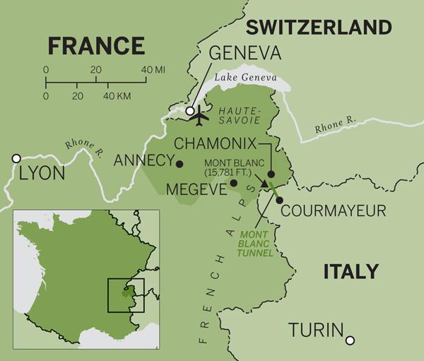 Alpine Highspots in Chamonix and Megve