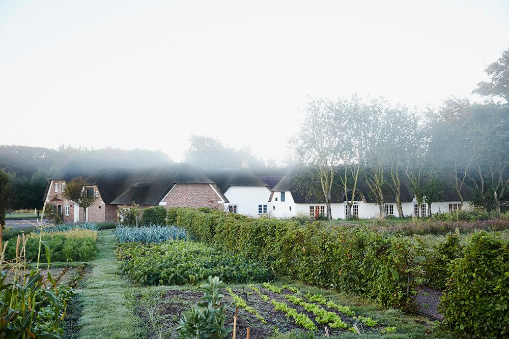 The garden at Henne Kirkeby Kro