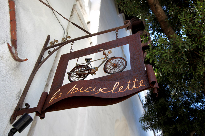 <i>La Bicyclette</i> - Photo courtesy of CarmelCalifornia.com