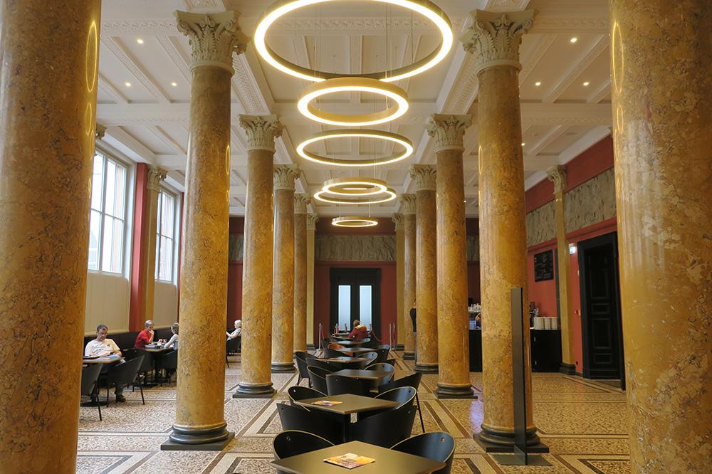 The interior of <em>Das Liebermann</em>