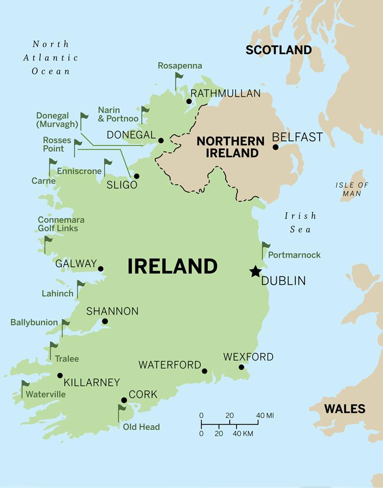 Where Is Sligo In Ireland On A Map Ireland Map - Ireland on map