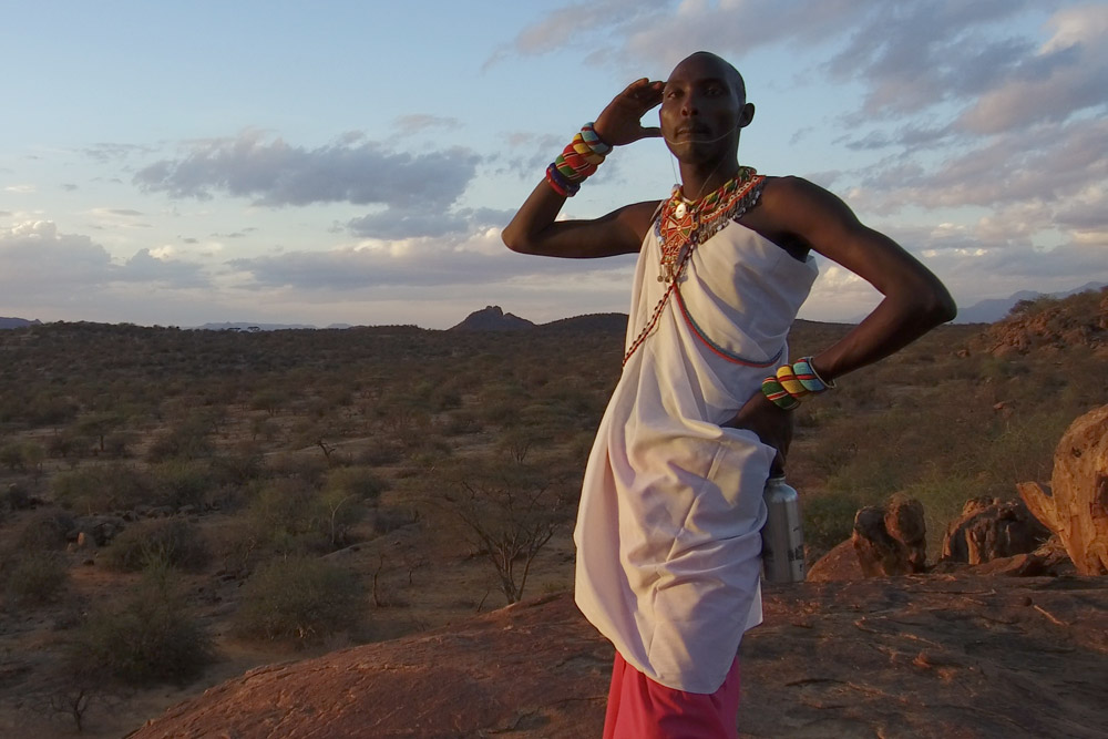 Jacob, one of our Samburu guides - Scott Dubois
