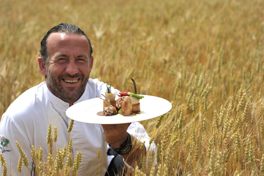 Chef Jean-François Bérard of Hostellerie Bérard & Spa in La Cadière d'Azur, France