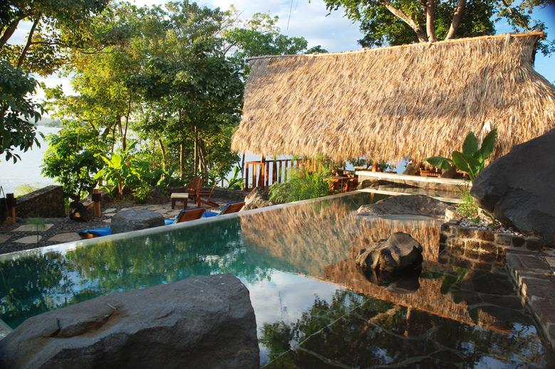Pool at Jicaro Island Ecolodge