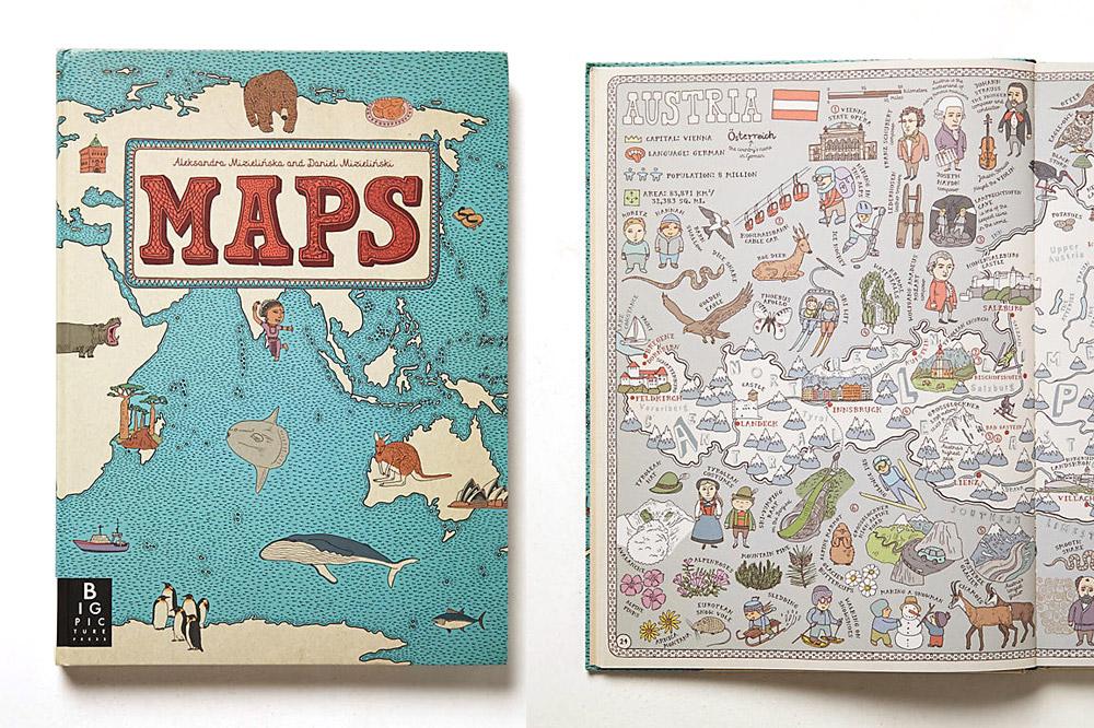 """""""Maps"""" by Aleksandra Mizielinska and Daniel Mizielinski"""