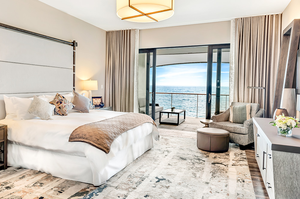 The King Suite with an ocean view at The Loren at Pink Beach in Bermuda