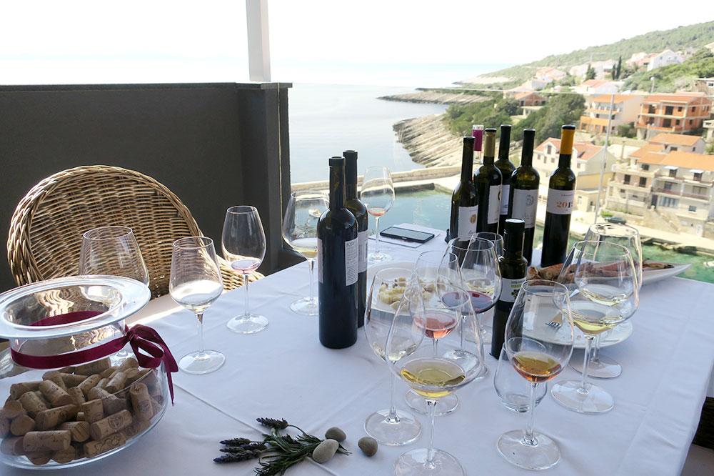 Wine tasting at Vinarija Krajančić in Korčula