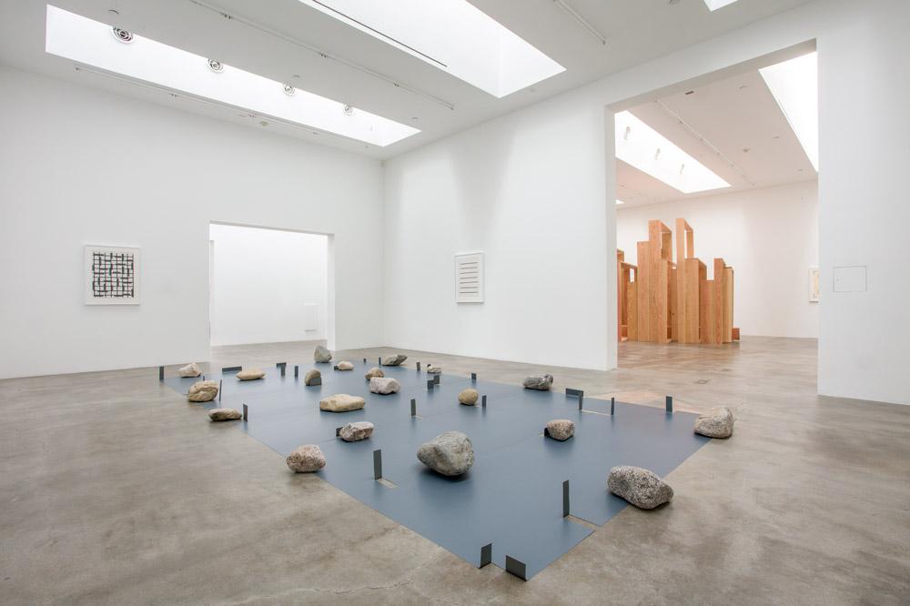 Kishio Suga installation view, 2017