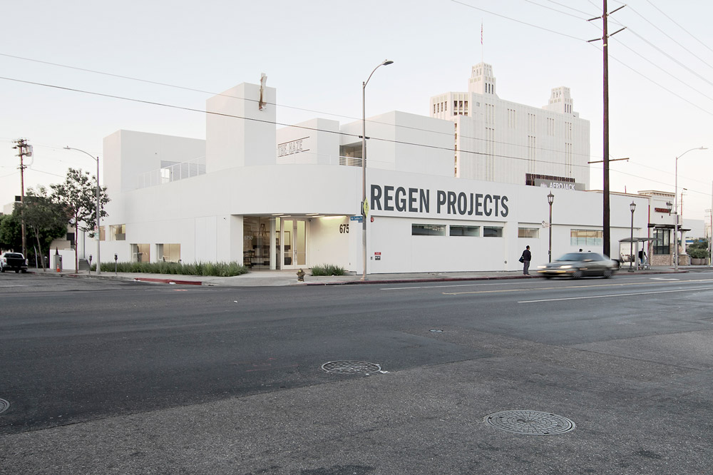 The exterior of Regen Projects