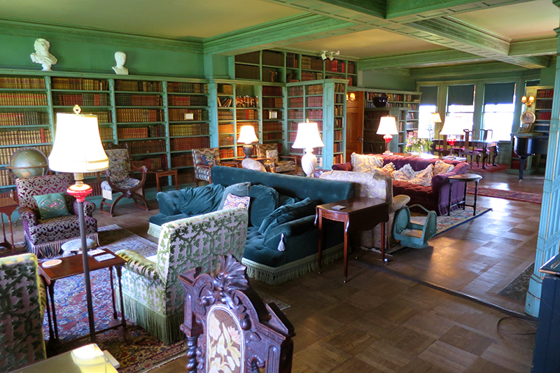 Library at The Inn at Shelburne Farms