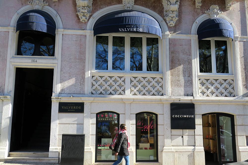 Exterior of the Valverde Hotel