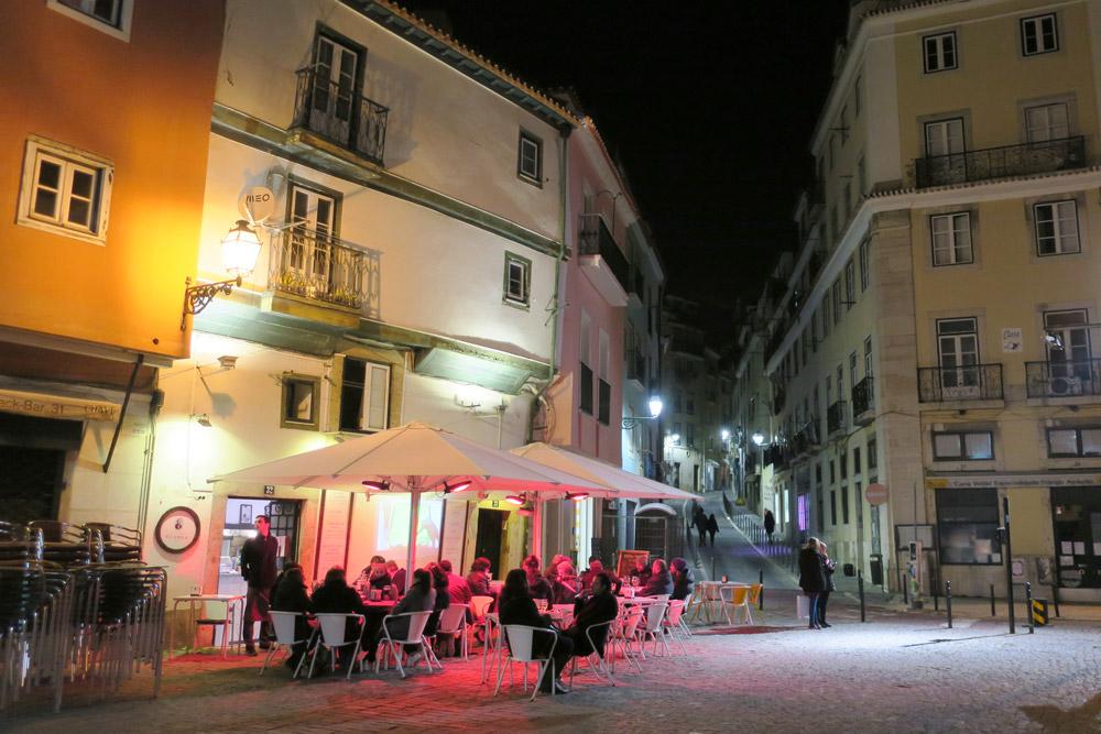 Largo de Chafariz de Dentro, a classic square in the Alfama neighborhood of Lisbon, Portugal - Photo by Andrew Harper