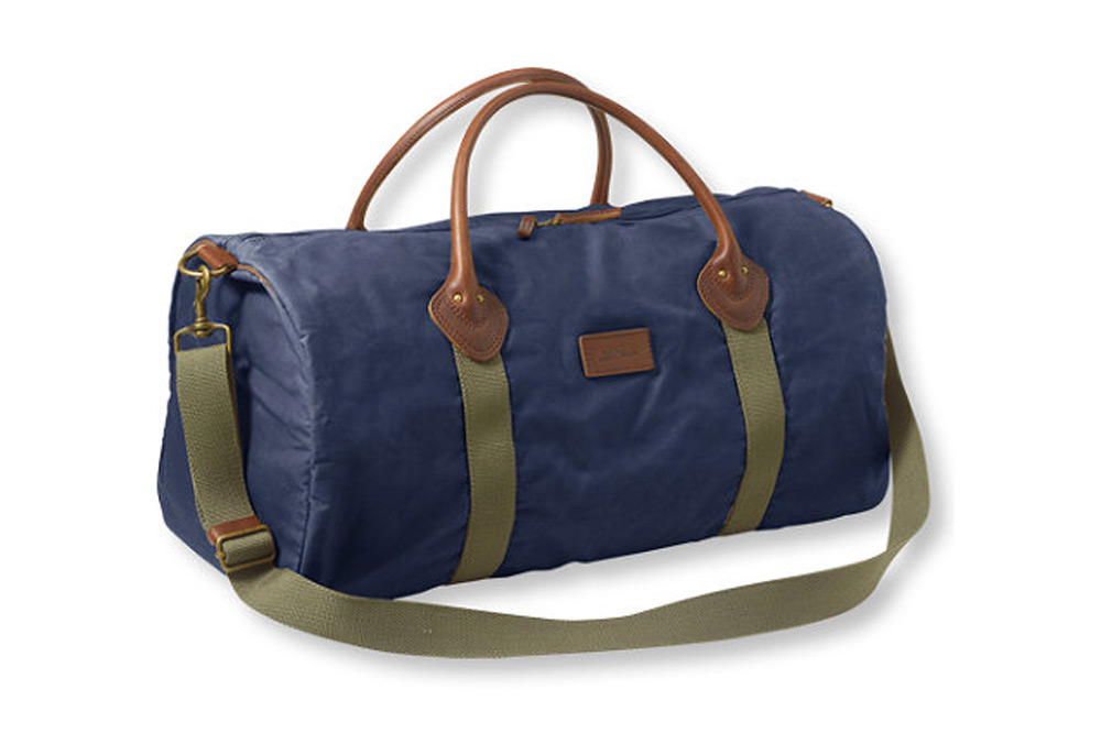 L.L. Bean Heritage Waxed Canvas Duffle