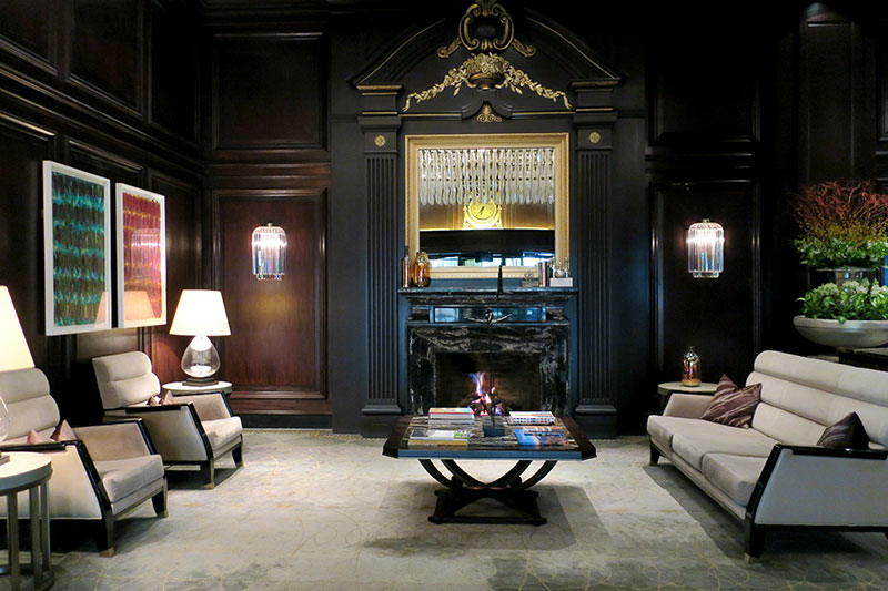 Lobby at Rosewood Hotel Georgia - Photo by Andrew Harper