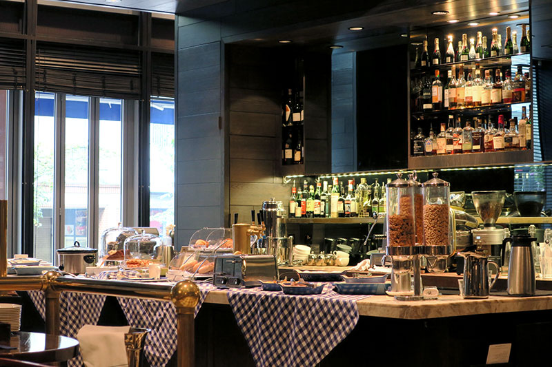 Breakfast at Tableau Bar Bistro - Photo by Andrew Harper