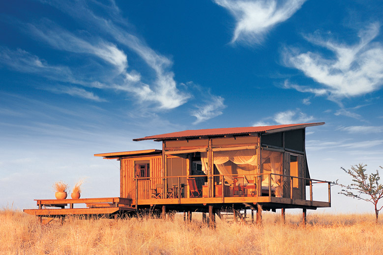 Luxury African Safari Camps Raised on Stilts