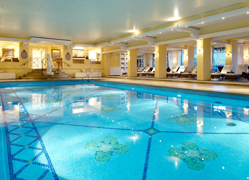 Indoor Pool At Bareiss