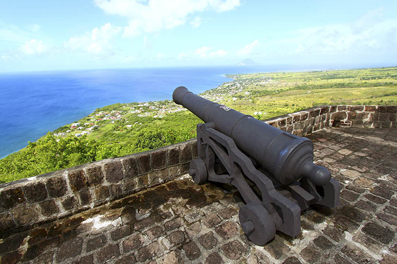 Military History on St. Kitts