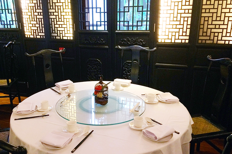 <i>Loong Toh Yuen</i> dining room at Hullett House - Photo by Andrew Harper