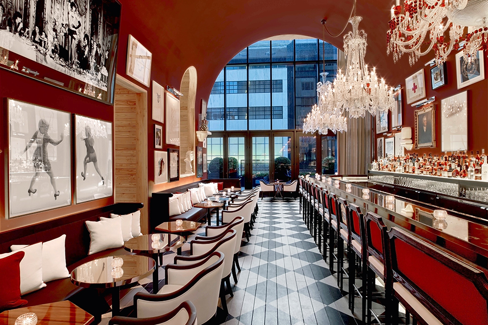 The Bar at the Baccarat Hotel in New York