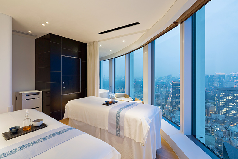 AO Spa treatment room at Andaz Tokyo Toranomon Hills - © Michael Moran