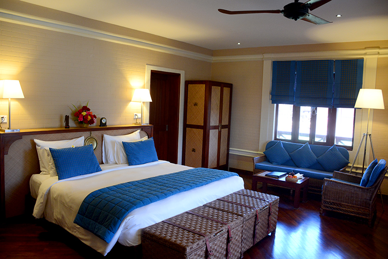 Our Villa Room at Bagan Lodge - Photo by Andrew Harper