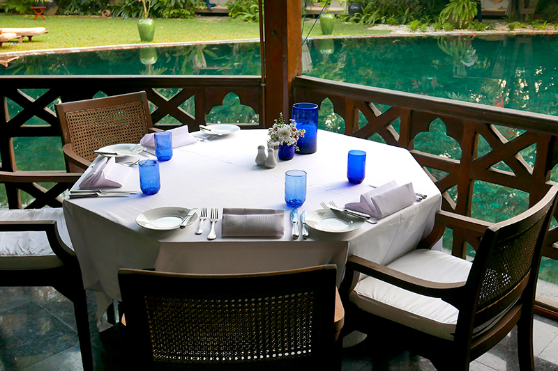 <i>Mandalay Restaurant</i> terrace at Belmond Governor's Residence - Photo by Andrew Harper