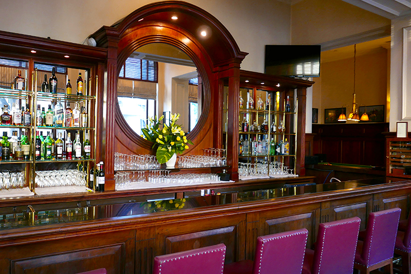 The <i>Strand Bar</i> is known for its house cocktail, the Strand Sour - Photo by Andrew Harper