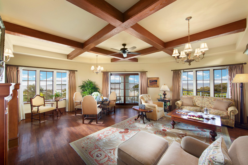 Seaside Suite view at The Lodge at Sea Island