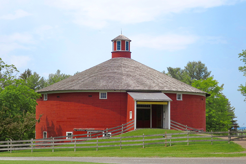 "The ""Round Barn"" at the Shelburne Museum - Photo by Andrew Harper"