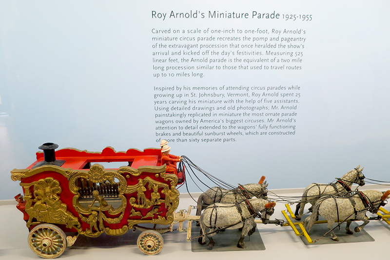 Roy Arnold's <em>Circus Parade</em> at the Shelburne Museum - Photo by Andrew Harper