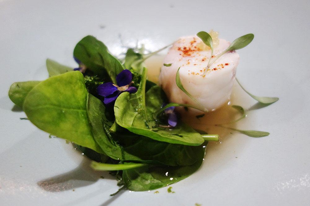 Monkfish with lemon and herbs from <em>PRaiRiaL</em>