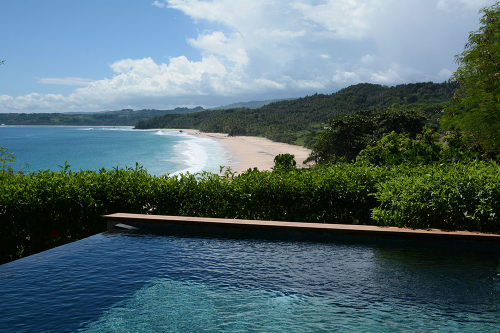 The view and private pool of our Mandaka room at Nihi Sumba