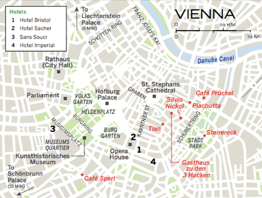 Vienna Travel Guide – Vienna Travel Map