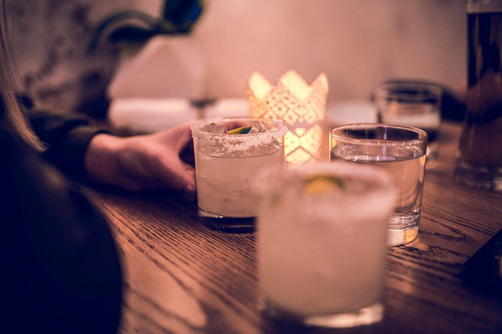 The perfect nightcap in San Miguel: frosty margaritas