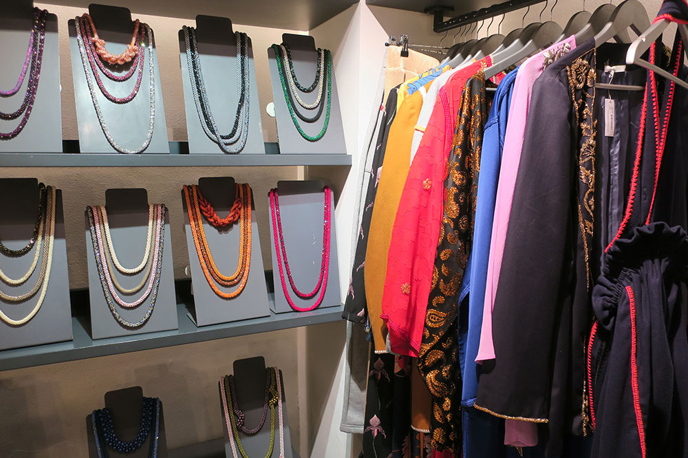Clothing and jewelry from 33 Rue Majorelle