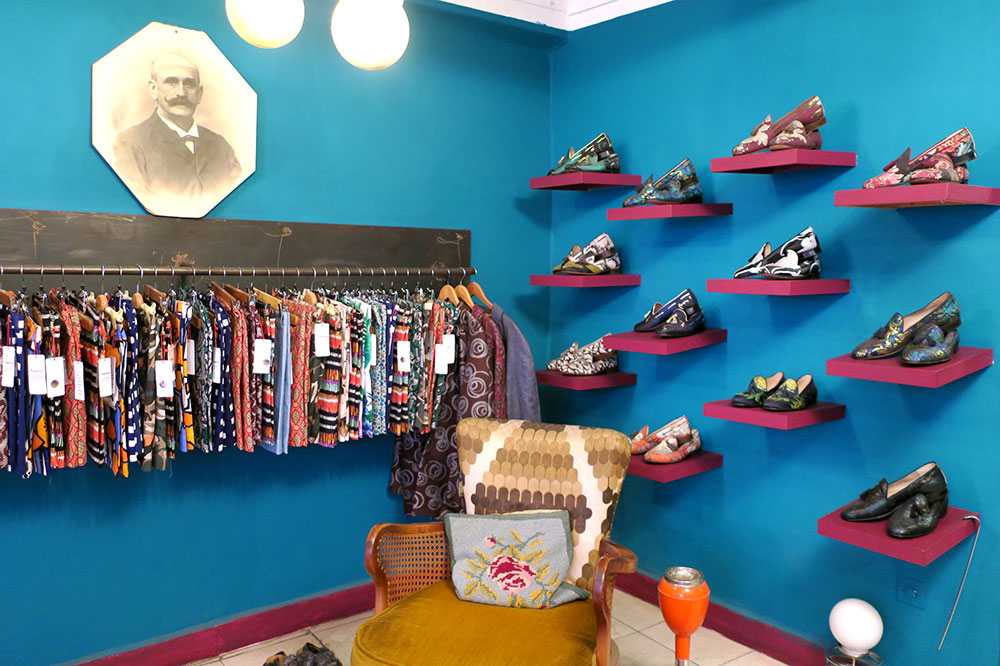 The Topolina men's store