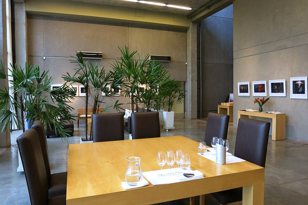 Tasting room at Viña Cobos