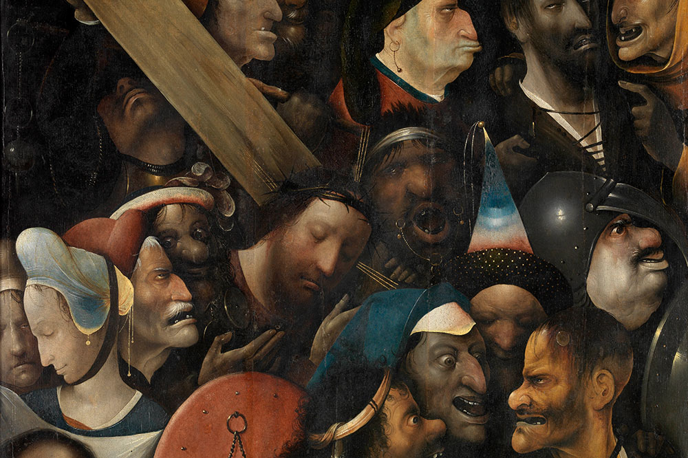 """""""Christ Carrying the Cross,"""" by Hieronymus Bosch, from the Museum of Fine Arts Ghent"""