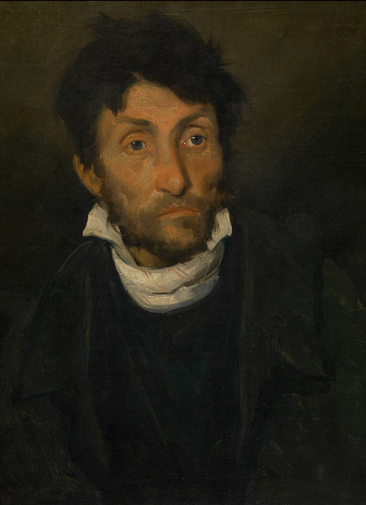 """""""Portrait of a Kleptomaniac,"""" by Théodore Géricault, from the Museum of Fine Arts Ghent"""