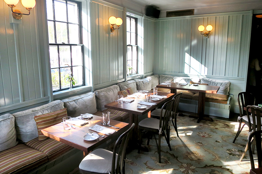 The restaurant at Greydon House whose chef is the acclaimed Marcus Gleadow-Ware