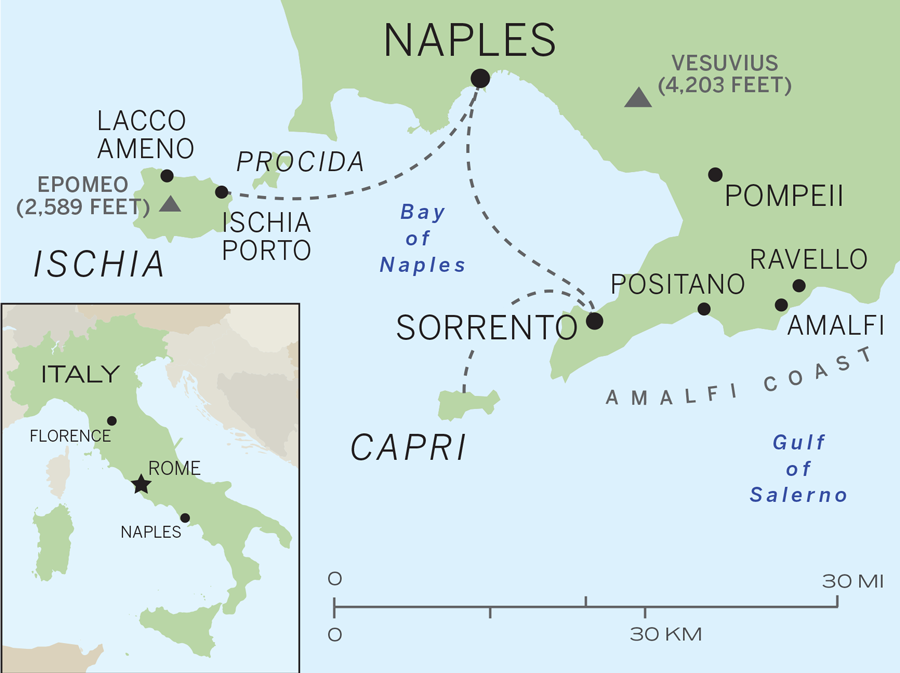 Naples and Ischias Most Enchanting Hotels