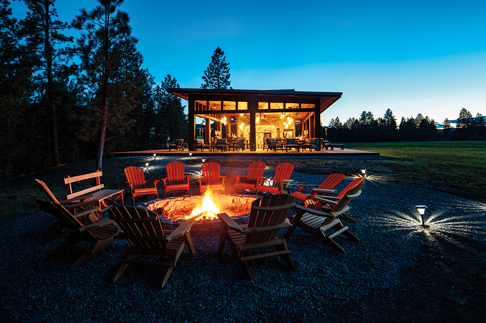The North Bank Camp at The Resort at Paws Up in Greenough, Montana