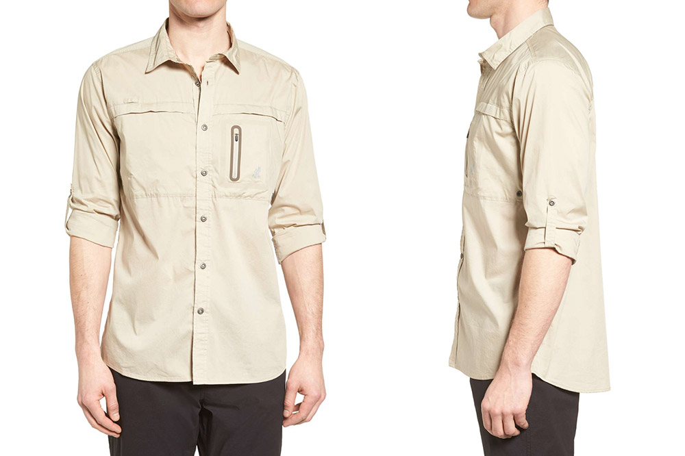 NO-Squito travel shirt from Gramicci