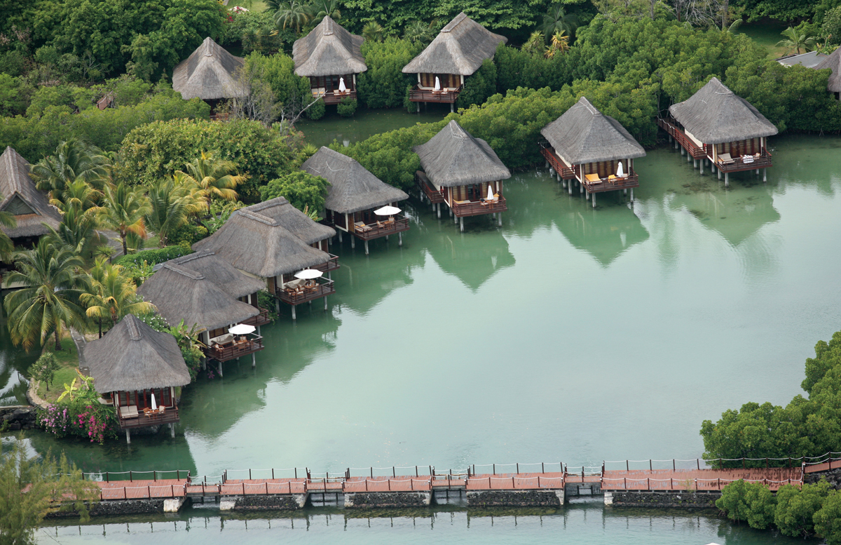 stunning overwater bungalows. Black Bedroom Furniture Sets. Home Design Ideas