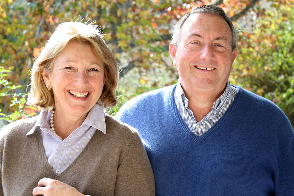 Bobbie and Peter Martin, owners of Edenhouse