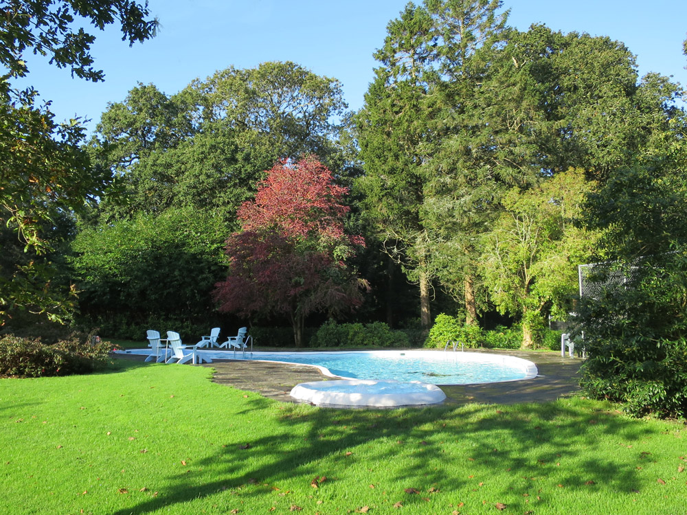 Ballymaloe House pool