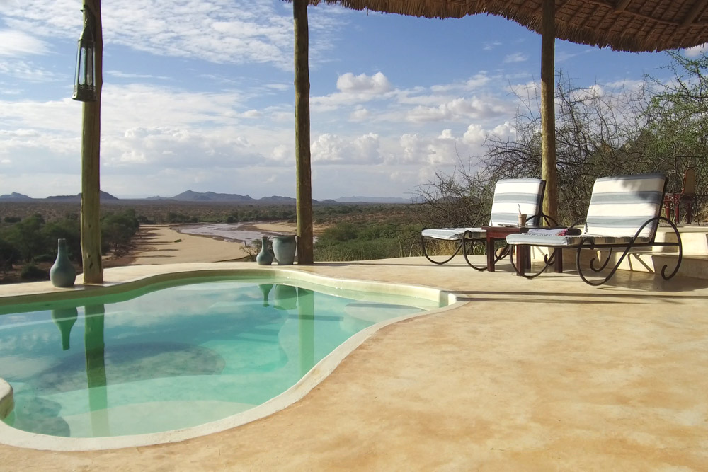 Plunge pool at Sasaab - Photo by Andrew Harper