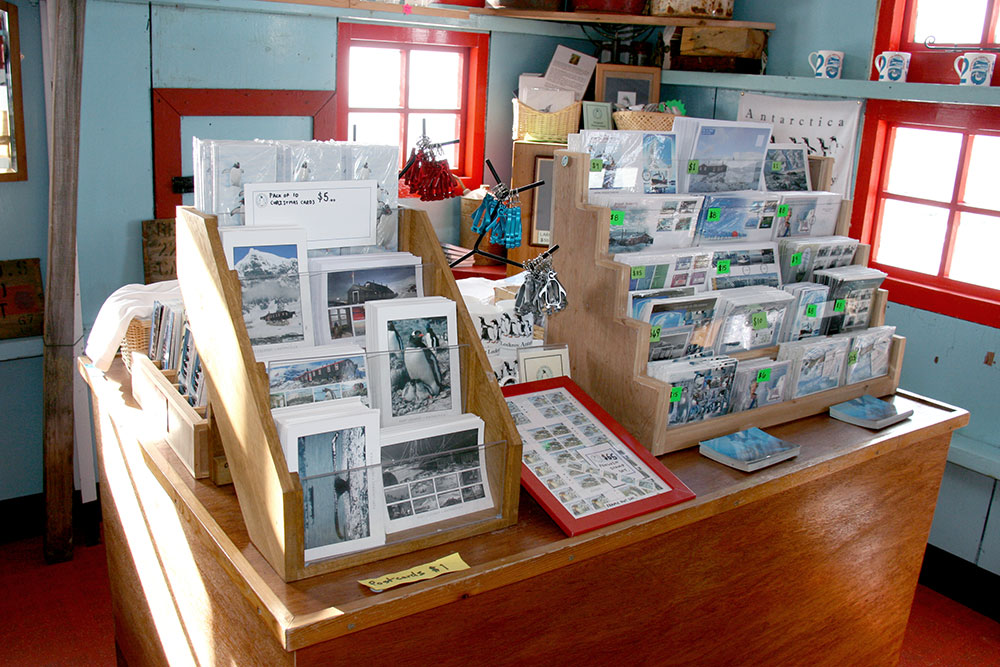 Shop at the Port Lockroy Museum